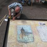 Grootste straattekening van Vic van Heeswijk , met lijst van STAN d'art , in Guinness Book of World Records